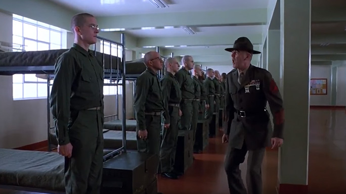 Full Metal Jacket R. Lee Ermey Gunnery Sergeant Hartman twinkle