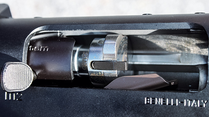 Gun Test Benelli M2 12-gauge shotgun Inertia