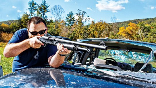 Gun Test Benelli M2 12-gauge shotgun lead