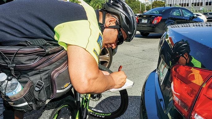 Coral Gables Bicycle Patrol ticket