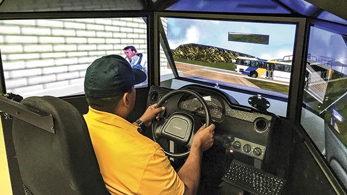 Law Enforcement Driving Tactics simulator
