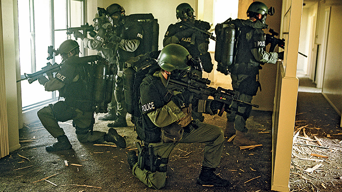 Law Enforcement Drug Warrant Search Spider Holes
