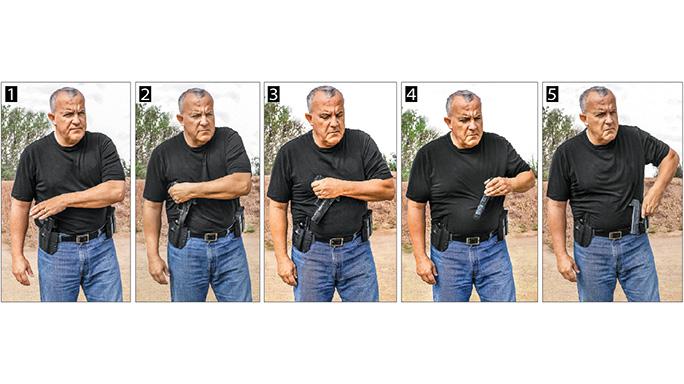 Weak Side Shooting steps