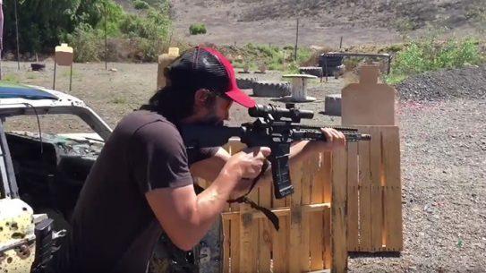 Keanu Reeves John Wick 2 shooting