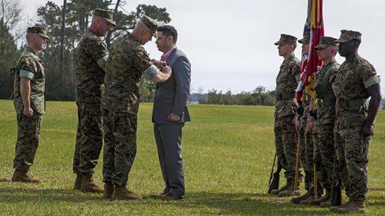 Marine Matthew Parker Silver Star Afghanistan