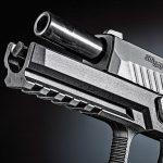 Sig Sauer P320 Shape Shifter Pistol barrel