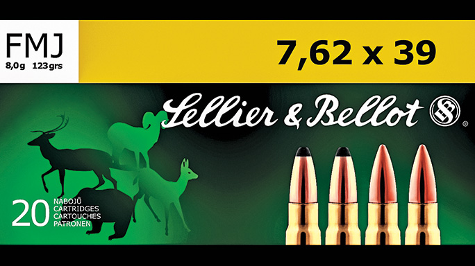 7.62x39mm ammo Sellier & Bellot SP