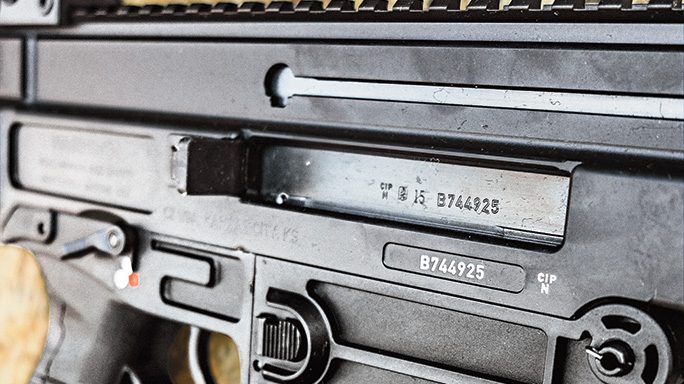 CZ-USA 805 BREN S1 Pistol receiver