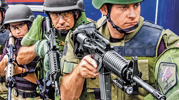 Cramerton Police Department rifle