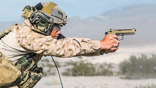 Beretta M9A3 9mm pistol tactical field