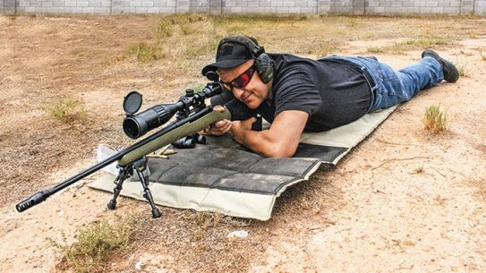 Mossberg Patriot Night Train rifle lead