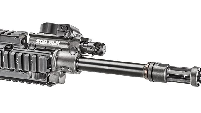 Ruger SR-556 Takedown review barrel