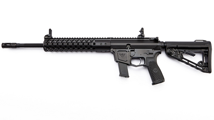 Wilson Combat AR9 9mm Pistol Caliber Carbine left