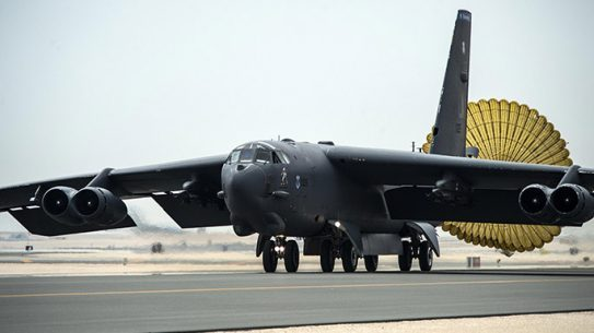 B-52 Bomber First Mission ISIL
