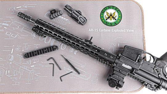 Guntec AR-15 Armorer's Gun Cleaning Mat lead