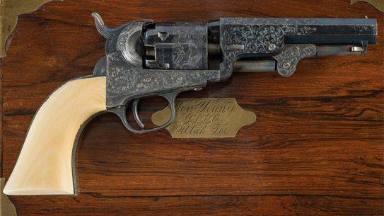 Brigham Young Colt Model 1849 Revolver