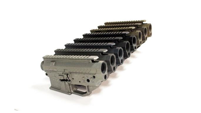 Houlding Precision Receivers Faxon Firearms side