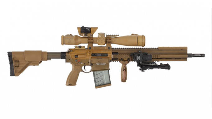 Heckler & Koch Awarded $44.5M Army Sniper Rifle Contract