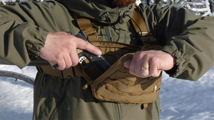 Hill People Gear Recon Kit Bag pistol