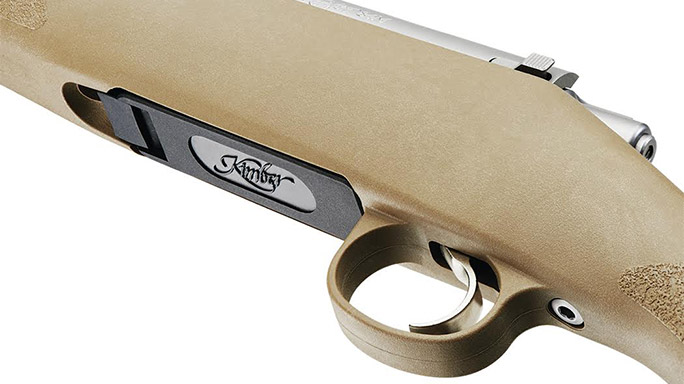 Kimber 84M Hunter Rifle trigger