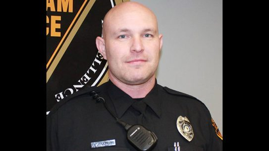 Evesham Police Officer Brian Strockbine