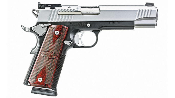 Competition 1911 Pistols Sig Sauer 1911 Traditional Match Elite