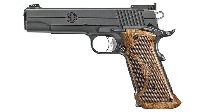 Competition 1911 Pistols Sig Sauer 1911 Nitron Super Target