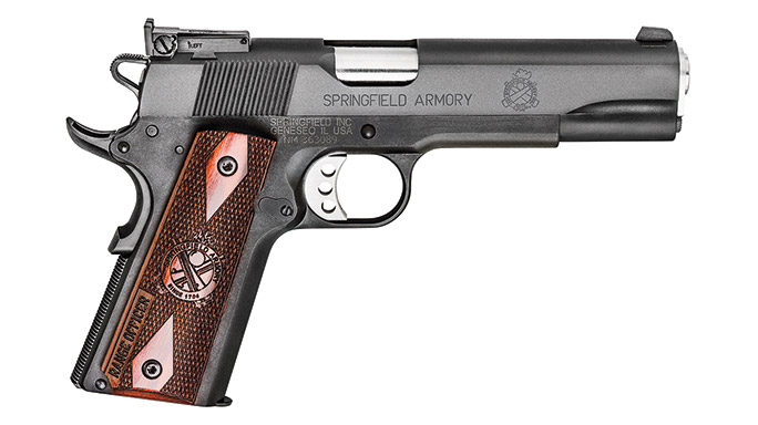 Competition 1911 Pistols Springfield Armory Range Officer