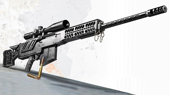 MG Arms Behemoth .50 BMG rifle lead