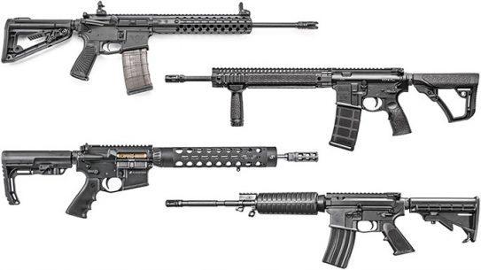 9 Lightweight AR Rifles