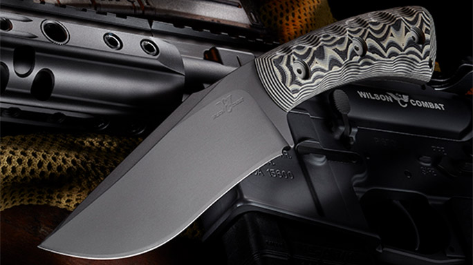 Wilson Combat Rover Knife Gray/Black