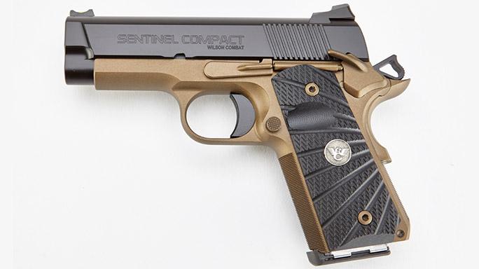 Wilson Combat Sentinel Compact Pistol Burnt Bronze