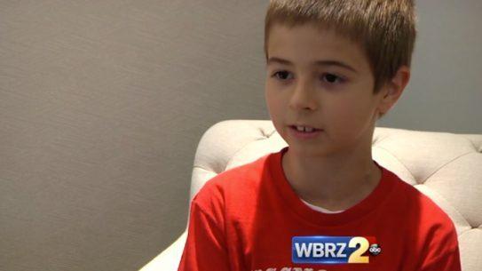 Baton Rouge First Responders Benjamin Chiasson lemonade stand