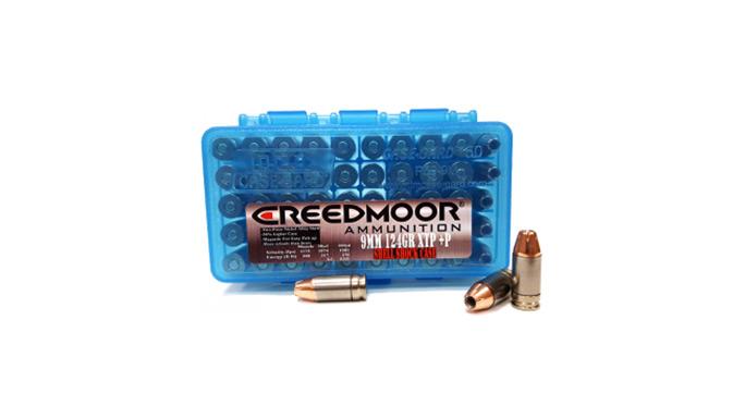 Creedmoor 9mm Ammo Shell Shock NAS3 Casing