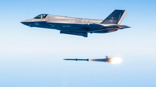 F-35 Weapons Test Record August 2016