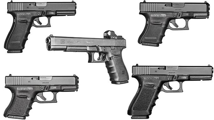 Glock 10mm Pistols Handguns