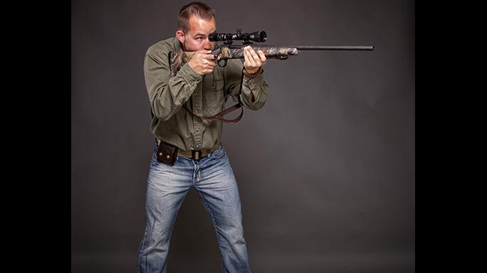 Shadowland Rifleman Test standing