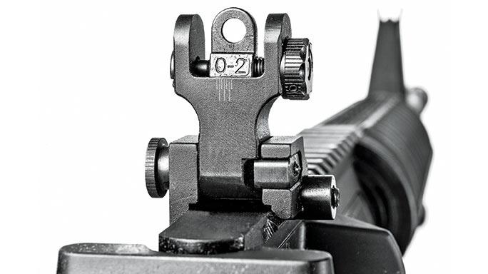 Del-Ton Echo 316M Rifle test sight