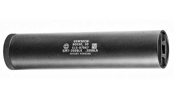 Gemtech GMT-300BLK Suppressor 2016 lead