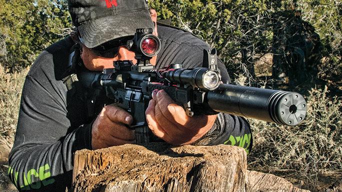 Daniel Defense DDM4 300S Rifle Test field