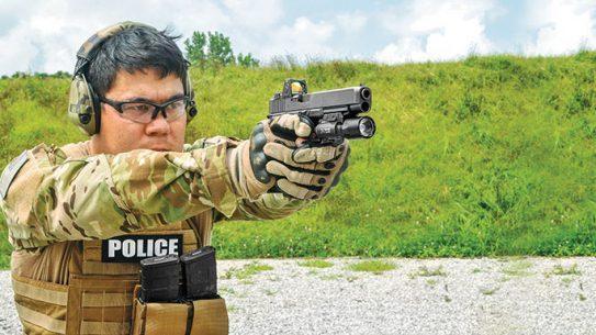 Glock G34 Gen4 MOS Pistol field