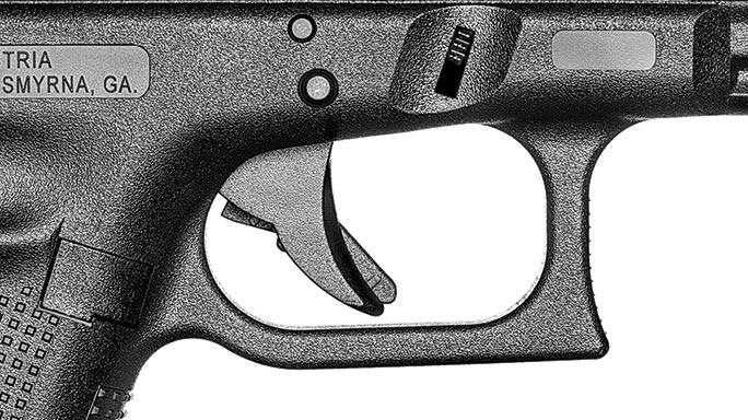 Glock G34 Gen4 MOS Pistol trigger