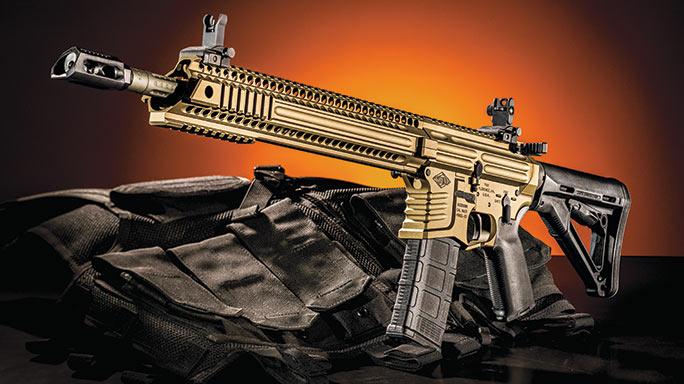 Yankee Hill Machine Model 57 Specter XL Rifle lead