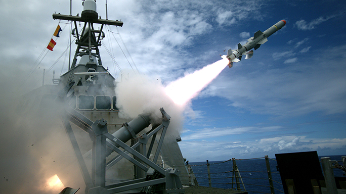 Navy Harpoon Missile First Test 2016