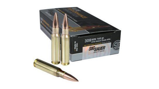 Sig Sauer .308 WIN Open Tip Match Ammo