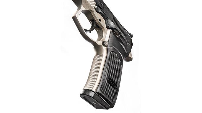 Bersa Thunder 9 Pro XT pistol handle