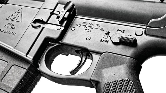 Del-Ton DTI .308 rifle special weapons controls