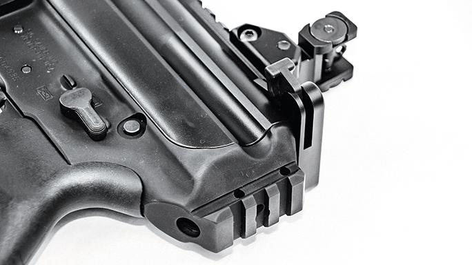 Sig Sauer MPX-P Semi-Auto Pistol rear rail