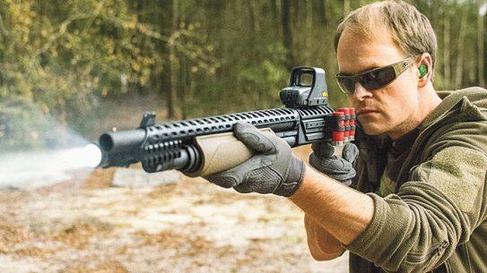 Mossberg ATI Scorpion Shotgun test lead
