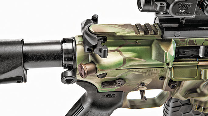 Sharps Bros .458 SOCOM Rifle test charging handle